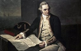 Nathaniel Dance-Holland - Captain James Cook
