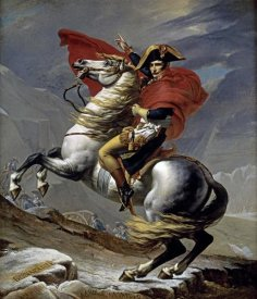 Jacques-Louis David - First Consul Crossing The Alps
