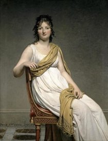 Jacques-Louis David - Portrait De Madame Verninac