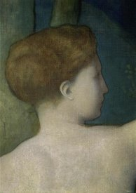 Pierre Puvis de Chavannes - The Imagination (Detail) II