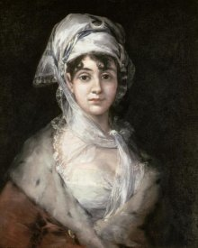 Francisco De Goya - Antonia Zarate