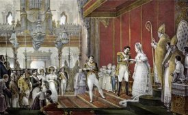 Jean Baptiste Debret - Marriage of Emperor Pedro I To Princess Amelie De Leuchtenberg