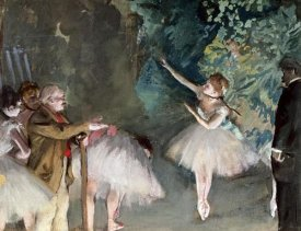 Edgar Degas - Repetition de Ballet