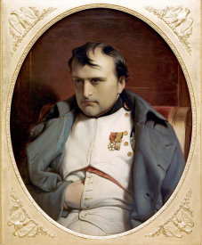 Paul Delaroche - Napoleon In Fountainebleau