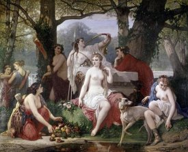 Louis Devedeux - Diana's Bath