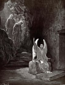 Gustave Dore - The Angel Seated Upon the Stone
