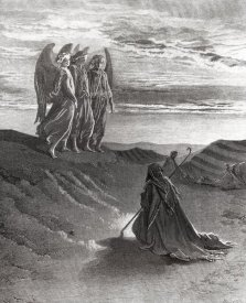 Gustave Dore - The Lord Appearing Before Abraham