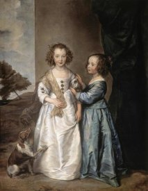 Anthony van Dyck - Philadelphia and Elisabeth Wharton