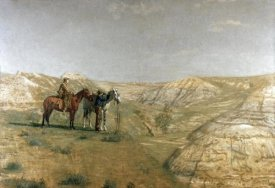 Thomas Eakins - Cowboys In The Badlands