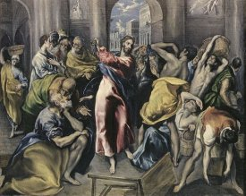 El Greco - Christ Driving Moneychangers From Temple