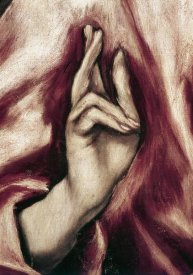 El Greco - The Redeemer - Detail