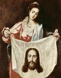 El Greco - Veronica and The Holy Veil