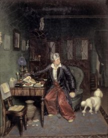 Pavel Andreevic Fedotov - Breakfast of The Aristocrat