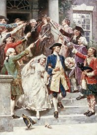Jean Leon Gerome Ferris - Here Comes The Bride, Wedding of Washington