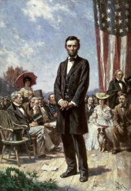 Jean Leon Gerome Ferris - The Gettysburg Address