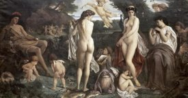 Anselm Friedrich Feuerbach - Judgement of Paris