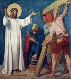 Martin Feuerstein - Jesus Carries His Cross, 2nd Station of The Cross