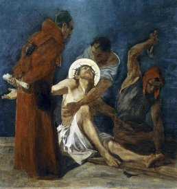 Martin Feuerstein - Jesus Is Nailed To The Cross, 11th Station of The Cross