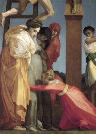 Rosso Fiorentino - Descent From The Cross (Detail)