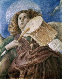 Melozzo da Forli - Music Making Angel With Drum