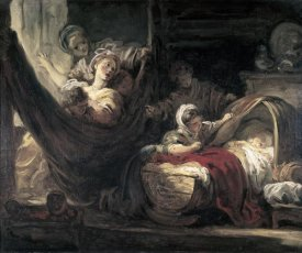 Jean Honore Fragonard - Cradle