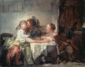 Jean Honore Fragonard - The Captured Kiss