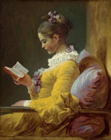 Jean Honore Fragonard - Young Girl Reading