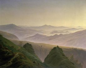 Caspar David Friedrich - Morning in the Mountains