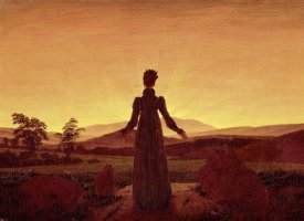 Caspar David Friedrich - Morning Light