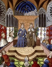 Jean Froissart - King of France & Emperor of Germany In Conference