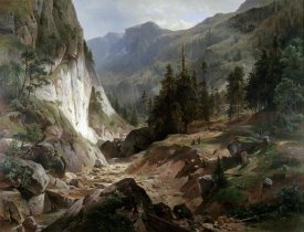 Herman Fueschel - Mountain Landscape