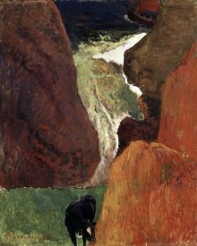 Paul Gauguin - Above the Abyss Au Dessus du Gouffre