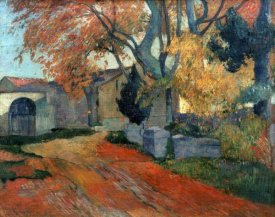 Paul Gauguin - L'Allee des Alyscalps Arles