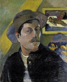 Paul Gauguin - Portrait of the Artist, (Portrait de l'Artiste) (i)