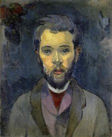 Paul Gauguin - Portrait of the Artist, (Portrait de l'Artiste) (ii)