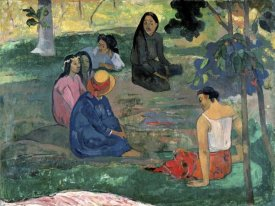 Paul Gauguin - The Talk