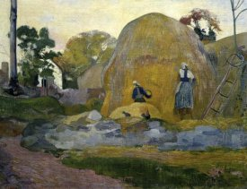 Paul Gauguin - The Yellow Haystacks (Les Meules Jaunes)