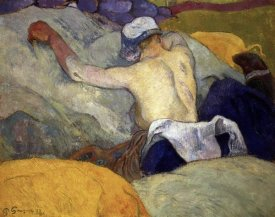 Paul Gauguin - Woman in the Hay (Femme dans le Foin)