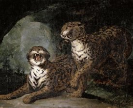 Theodore Gericault - Two Leopards