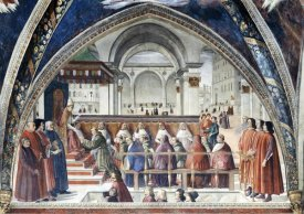 Domenico Ghirlandaio - Confirmation of The Order of Saint Francis