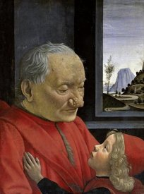 Domenico Ghirlandaio - Portrait of An Old Man and His Grandson
