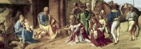 Giorgio Giorgione - Adoration of The Magi