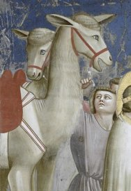 Giotto - Adoration of The Magi - Detail