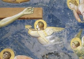 Giotto - Crucifixion - Detail of Angels