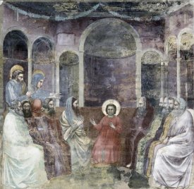 Giotto - Jesus Among The Doctors