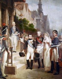 William Gosse - Napoleon Receiving The Queen of Prussia, Tilsit