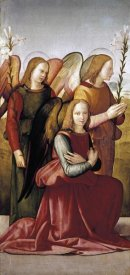 Francesco Granacci - Angels of The Annunciation