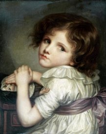 Jean Baptiste Greuze - Child With a Doll
