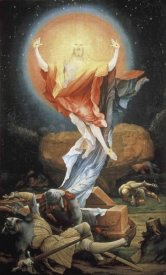 Mathias Grunewald - Isenheim Altarpiece: Resurrection