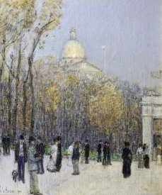 Childe Hassam - Boston Commons